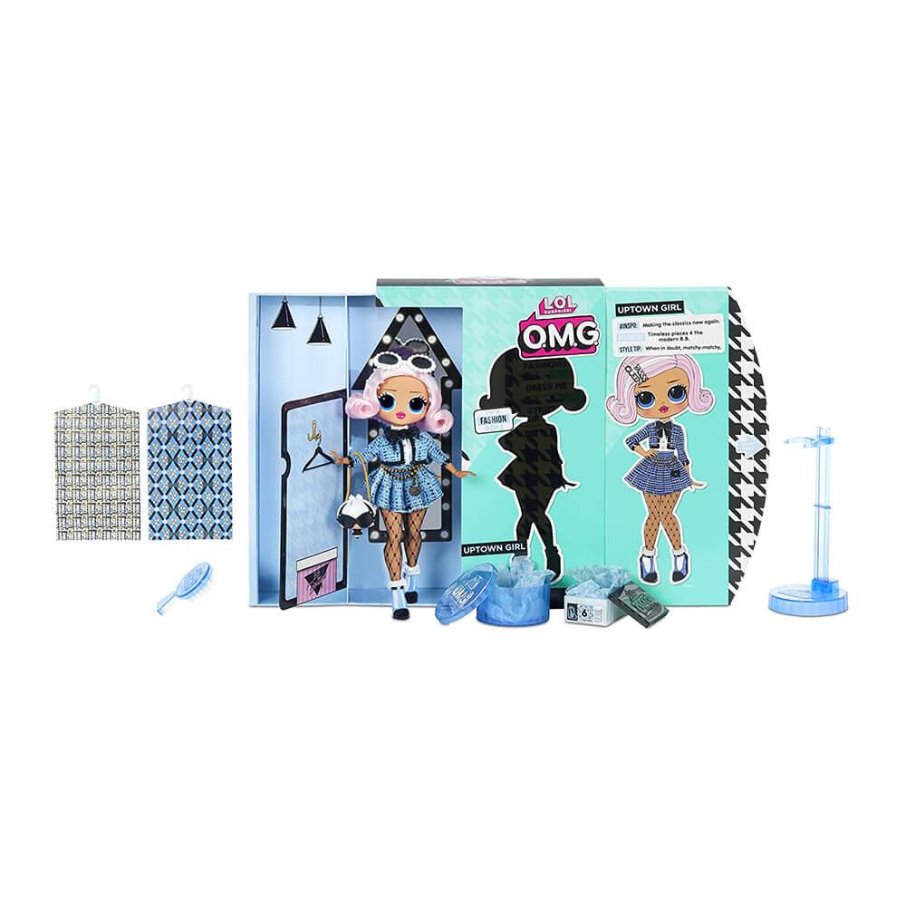 Большая кукла LOL Surprise OMG2 Uptown Girl с 20 сюрпризами (2 серия) - 2